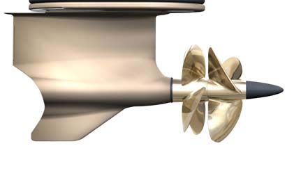 Forward facing system propeller design